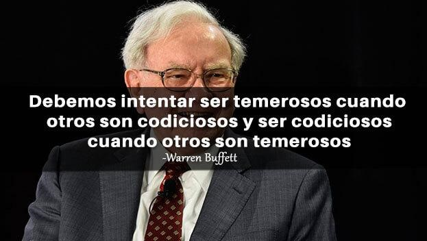 warren buffett codicioso